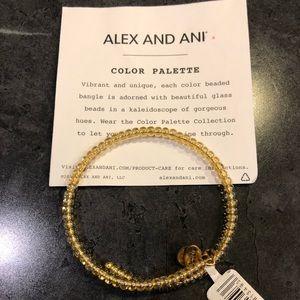 Alex and Ani copper colored wrap bracelet